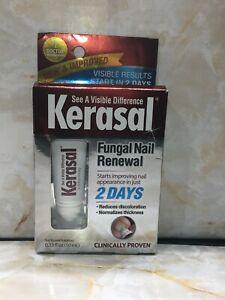 NEW AND IMPROVED!!!!! KERASAL Fungal Nail Renewal Cream Tube 10mL .33 oz