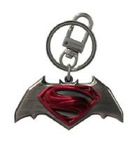 Officially Licensed Batman V Superman Dawn of Justice Color Pewter Metal Keyring