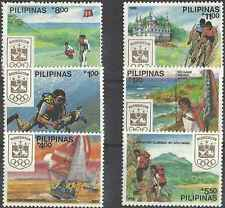 Timbres Sports JO Philippines 1623/8 ** lot 13828