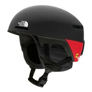 The North Face x Smith Code MIPS Helmet Medium Black/Red