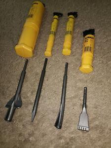 dewalt sds chisel bits set x4 half price