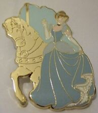 Disney Cinderella Riding a Horse on Prince Charming Regal Carousel Chaser pin