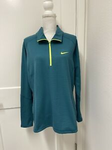 Nike Golf Women's Dry-Fit Half-Zip Jacket Pullover Size Xtra Large XL EUC!!