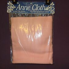 """Cross Stitch Afghan Pink Anne Cloth  1-1/4 Yd 58"""" 18 Count 11653 New Old Stock"""