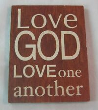 Ganz Magnet Inspirational  Kitchen Refrigerator Love God Love One Another