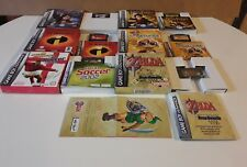 The Legend of Zelda: A Link to the Past - Game Boy Advance plus 5 extra games