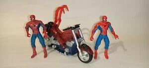 spider-man action figure bundle toybiz 1993
