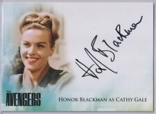 Avengers Complete Collection Auto Autograph Card Honor Blackman as Cathy Gale