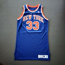 "100% Authentic Patrick Ewing Champion 92 93 Knicks Game Issued Jersey 48+6"" Mens"