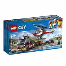 60183 HEAVY CARGO TRANSPORT truck semi lego city town NEW legos set HELICOPTER