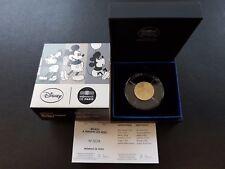 2016 MICKEY - DISNEY SERIE - 50 Euro 1/4 Uz Gold Or PP/PROOF 1.000 Ex