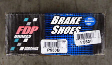 BRAND NEW FDP P553B / 553 REAR DRUM BRAKE SHOES FITS VEHICLES LISTED ON CHART