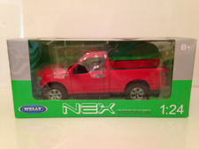 Ford F-150 2015 Red 1:24 Scale Welly 24063R NEW