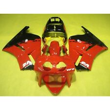 Red Hand Made ABS Fairing Bodywork Kit Fit For Honda VFR400R VFR 400 R NC30 6AB