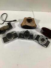 Lot of 3 Film Cameras