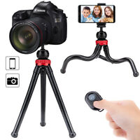 Octopus Flexible Tripod Holder Mount Stand for Phone Camera w/ Remote Shutter
