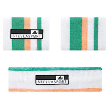 Adidas Womens Stella McCartney Stellasport Sweatband Set AH6776 White/Multi
