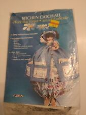 KITCHEN Catch-All Plastic Grocery Bag Keeper Easy-Sew Craft Pattern Kit #3058