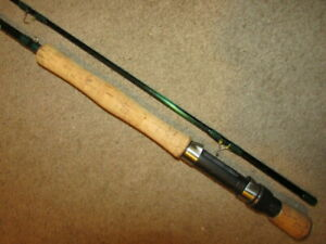Scientific Anglers Fly Fishing Rod, 2 Pc. Graphite, 9ft., 8wt., Metallic Green
