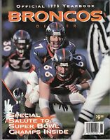 Denver Broncos 1998 Official Yearbook John Elway On Cover