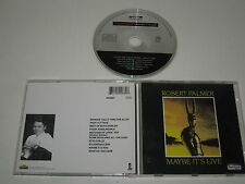 ROBERT PALMER/MAYBE IT'S LIVE(SPECTRUM/550 0682)CD ÁLBUM