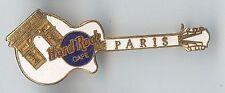 Hard Rock Cafe Paris Lp with Arc de Triomphe Guitar Pin