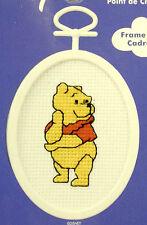Winnie the Pooh - Janlynn Cross-stitch kit - with frame