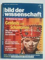Bild der Wissenschaft  4/1999 - Medizin der Zukunft - Archäologie - Zeitschrift