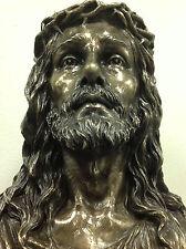 "Jesus Bust Large Religious Church Chapel Statue sculpture 16"" Ship Immediately"