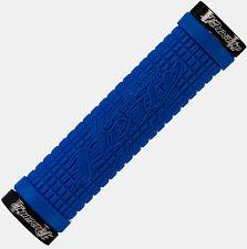 Lizard Skins Peaty Lock On MTB Handlebar Grips  - Electric Blue