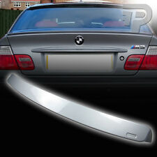 PAINTED E46 BMW COUPE A STYLE WING ROOF SPOILER REAR 354 SILVER ▼