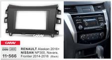 Carav 11-566 2din marco adaptador radio Nissan Np300 Navara Renault Alaskan