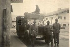 WWII Ger RP- Elite Soldier- Police- Truck KFZ- License Plate- Vacuum Oil AG Sign