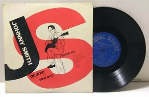 Johnny Smith Quintet featuring Stan Getz - ROOST RECORDS 413