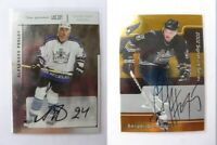 2001-02 BaP Signature Series #200 Gonchar Sergei gold autograph  capitals