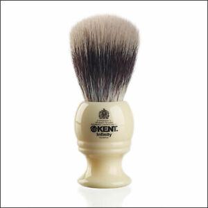 Kent Infinity Synthetic Silvertex Fibre Shaving Brush