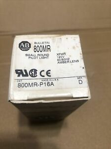 Allen Bradley Amber Pilot Light  #800MR-P16A