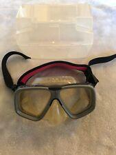 Aqua Lung Cortez Scuba Mask Snorkeling Mask Tempered Lense With Case