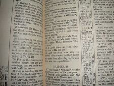 """""""Restoration of the Original Sacred Name Bible"""" JEHOVAH Watchtower research"""