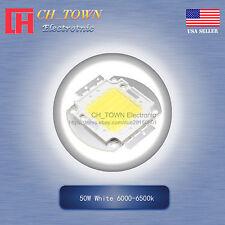 1pcs 50w Watt High Power White 6000 6500k Smd Led Chip Cob Lamp Lights