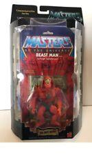 Masters Of The Universe BEAST MAN Commemorative HE-MAN MOTU FIGURE Limited Edit.