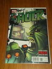 HULK INCREDIBLE #13 MARVEL COMICS NOVEMBER 2012 NM (9.4)