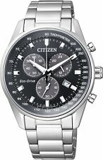 Citizen Eco-Drive AT2390-58E Chronograph Men's Watch  From Japan