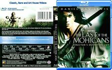The Last of the Mohicans ~ New Blu-ray Director's Cut ~ Daniel Day-Lewis (1992)