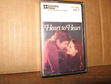 COLUMBIA HOUSE CASSETTE TAPE HEART TO HEART VOLUME 7