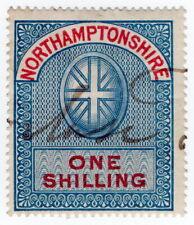 (I.B) Northamptonshire Revenue : Court Fees 1/- (1870)