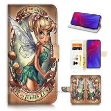 ( For Oppo Reno Z ) Flip Wallet Case Cover PB21612 TinkerBell