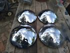 Early Ford 8 18 Baby Moon Hubcaps Hi-dome Beanie Baldy Scta 16 15 Rims