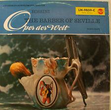 """Rossini the Barber of Seville Valetti Corena Peters Erich lessile villaggio 12"""" LP h640"""