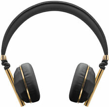 Caeden Linea N°1 On-Ear Headphone, Faceted Carbon & Gold (New) Excellent Sound